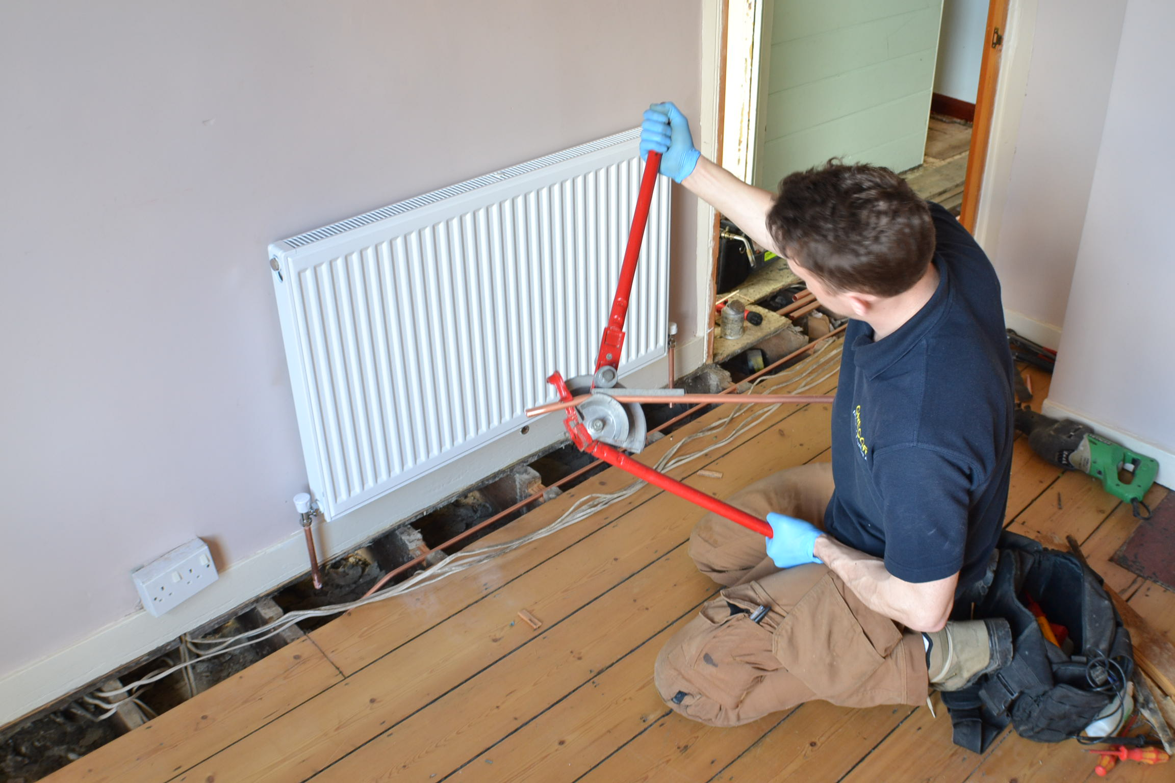 Work in progress - Gregory Heating and Plumbing Ltd