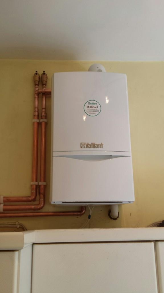 Vaillant ecoTEC Plus 438 open vent boiler installation Kingston ...