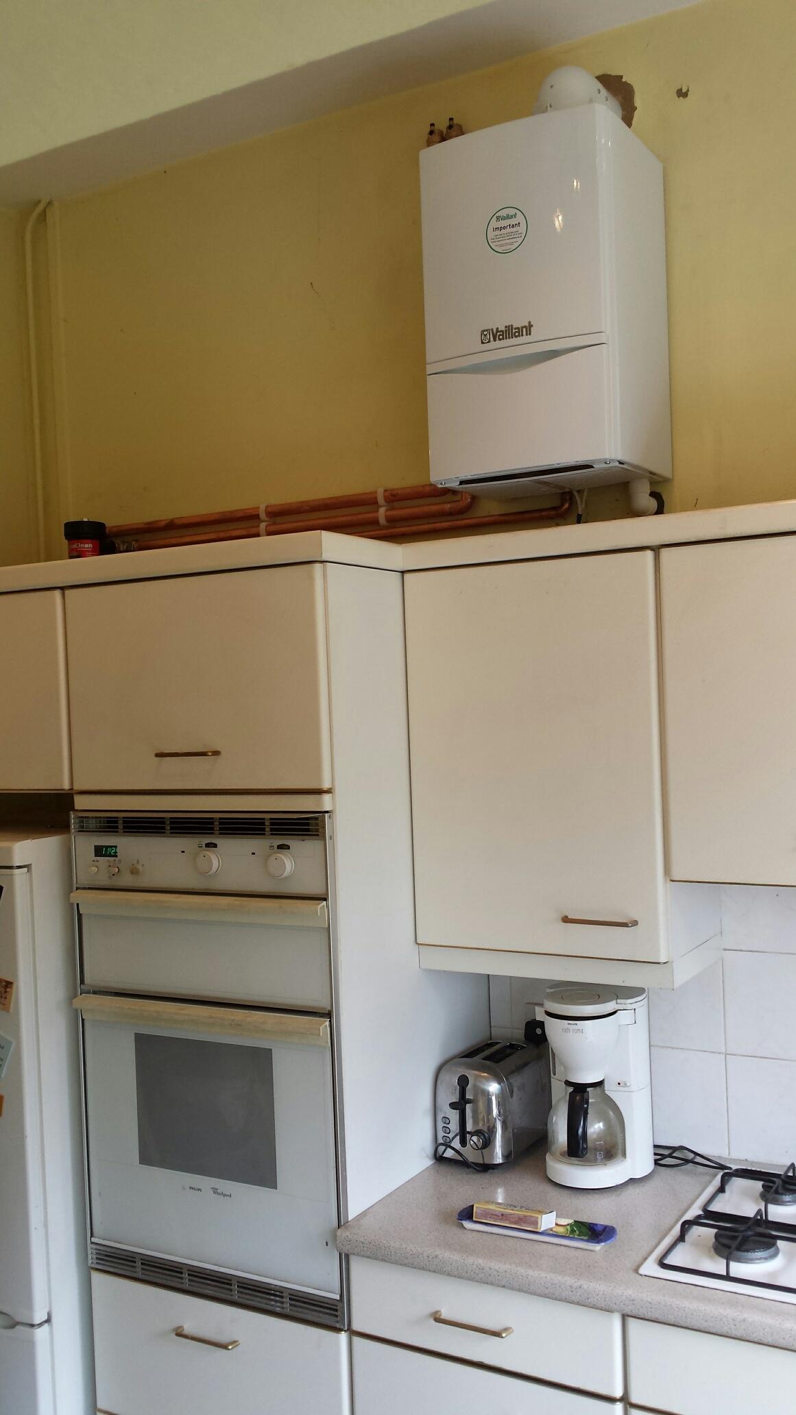 vaillant ecotec plus 438 open vent boiler installation kingston heating and. Black Bedroom Furniture Sets. Home Design Ideas